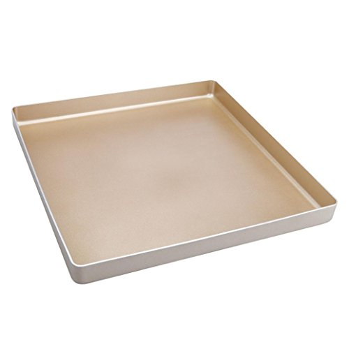 E-SCENERY Loaf Pan - Premium Non-Stick Carbon Steel 10-Inch Loaf Pan, Bakeware Mold for Baking Banana Bread, Meatloaf, Pound Cake 28.128.12.8cm