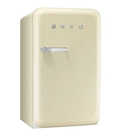 Smeg FAB10RP - Nevera combi (Independiente, Crema de color, Alto ...