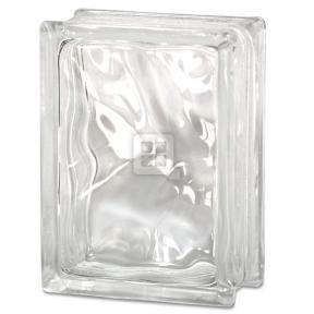 - Quality Glass Block 6 x 8 x 3 Wavy Glass Block