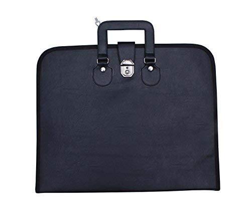 G/én/érique Embl/ème ma/çonnique mm//WM TABLIER Lime valise noire MB002