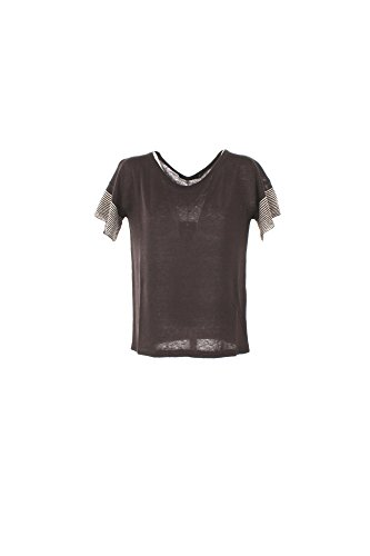T-shirt Donna Maxmara 2XL Marrone Calante Primavera Estate 2017