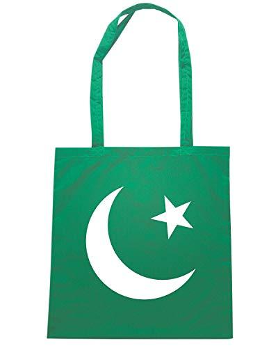 FLAG Shopper FLAG Speed TM0190 Verde Borsa OF Shirt PAKISTAN wSOwqFxXE