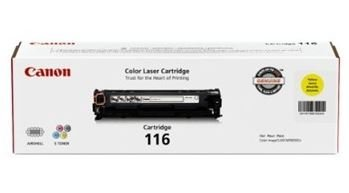 Canon 1977B001 (116) Toner, 1,500 Page-Yield, Yellow by ()