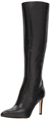 Sam Edelman Women's Olencia Knee High Boot, Black Leather, 8 Medium US by Sam Edelman