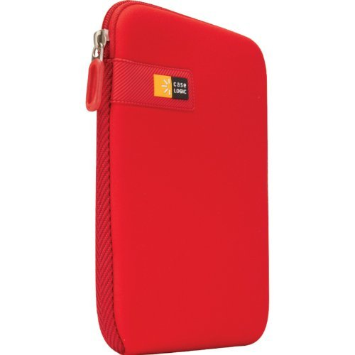 Case Logic LAPST-107 6 - 7-Inch Kindle Fire/Tablet/eBook Sleeve -Red