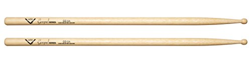 Vater Gospel Series 5A Hickory Wood Tip Drum Sticks, Pair