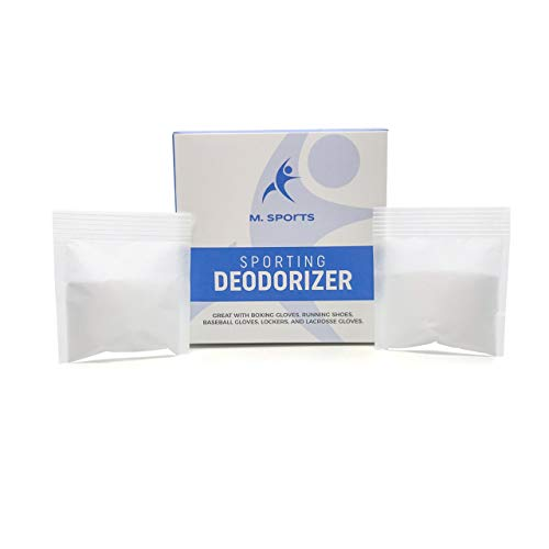 M sports Inc Sporting Equipment Deodorizer for Boxing Gloves, Lockers, Shoes and More. Pack of 10