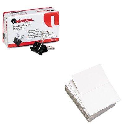 KITDMR851055UNV10200 - Value Kit - DOMTAR PAPER Custom Cut-Sheet Copy Paper (DMR851055) and Universal Small Binder Clips (UNV10200)