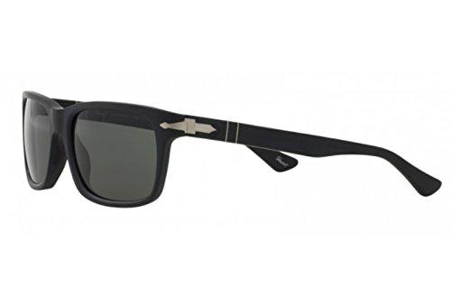 Persol Lunettes de soleil mixte Noir PO 3048S 9000 58 58 19  Amazon.fr   Vêtements et accessoires 4e2df998a476