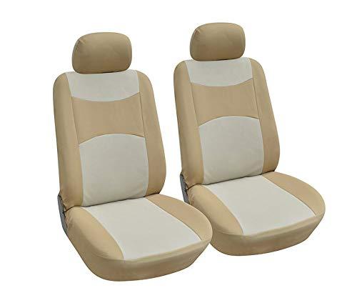 Used Mazda 3 5 Door - OPT. Brand. Tan Color Fabric Cloth 2 Front Car Seat Covers Fit Mazda 3 (4-Door) 3 (5-Door) 6 CX-3 CX-5