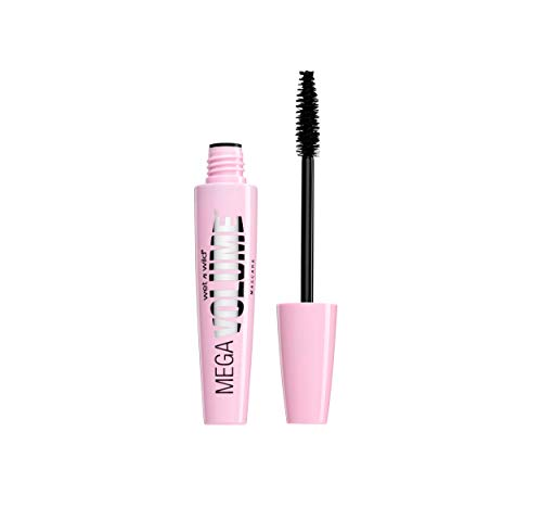 wet n wild Mega Volume Mascara, Very Black, 0.21 Ounce