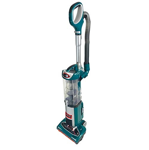 Shark DuoClean Technology Slim Upright Vacuum NV200Q HEPA Filter Powerful Lightweight with Advanced Swivel Steering, Flexi Crevice Tool and Under-Appliance Wand NV200QGN (Renewed) (Green)