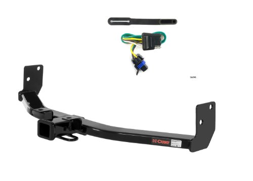 - Curt 13002-56096 Trailer Hitch and Wiring Package