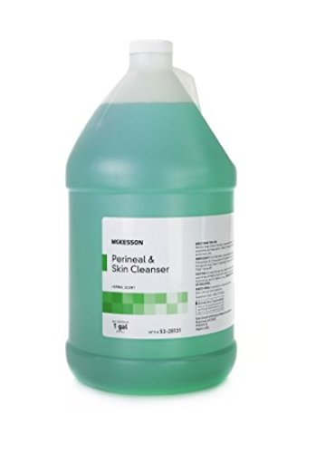 Central Solutions DermaCen No-Rinse Perineal Wash - PERI23071GL - 1 gallon, 1 Gallon / Each Perineal Solution