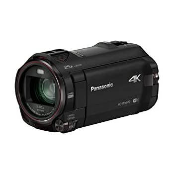 Panasonic HC-WX970K 4K Ultra HD Camcorder, Built-in Twin Video Camera (PIP) on LCD, 5.1 Audio (Black) (Discontinued by Manufacturer)
