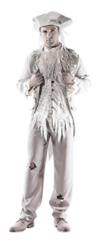 Victorian Ghost Gentleman Mens Costume (Ghostly Costume)