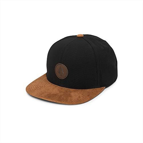Volcom Men's Quarter Fabric Hat, Smoke, One Size Fits All