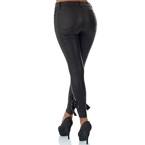 malucas Femme Skinny Pantalon Pantalon malucas Skinny Noir 4qdffw1z