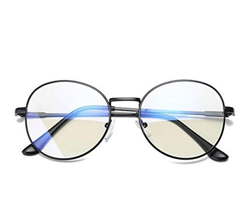 marea anti marco femenino Black Bright radiación a KOMNY coreano frame azul equipo Gafas de dorado macho Box prueba retro gafas gafas xHwaPqBX