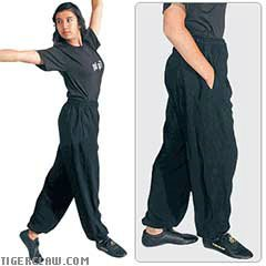 (Tiger Claw Lightweight Kung Fu Pants - Size 7)