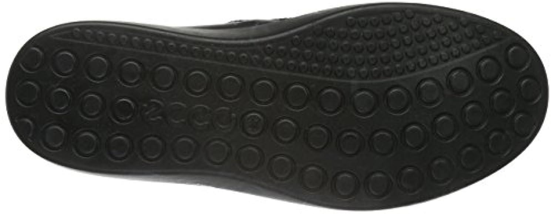 Ecco ECCO S7, Boys' Hi-Top Sneakers, Black (BLACK/LION59075), 1 UK ( 33 EU)