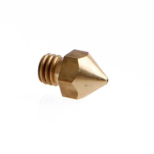 1pcs MK8 Extruder Nozzle Print Head for 1.75mm 3D Printer Nozzle 0.5mm New