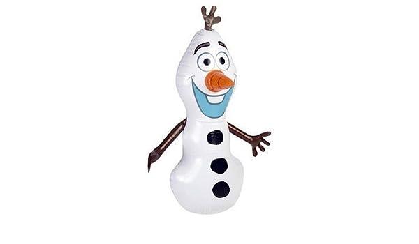 4 x Disney Frozen hinchable Olaf muñeco de nieve: Amazon.es ...
