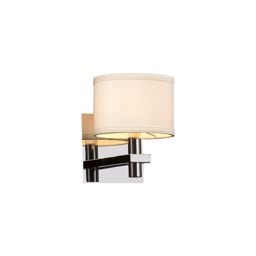 PLC Lighting 581 PC 1 Light Sconce, Concerto Collection, Polished Chrome Finish