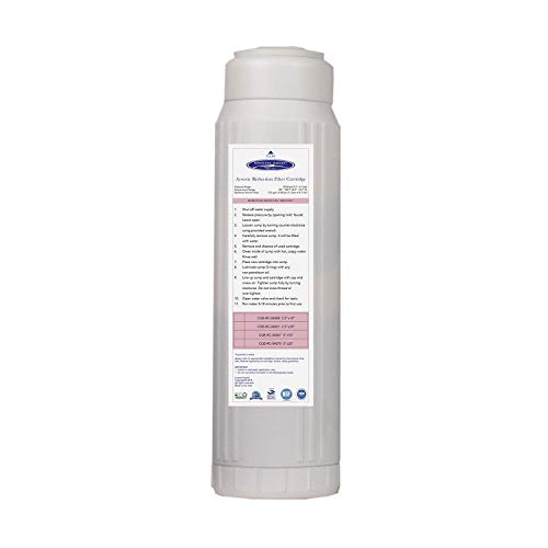 Crystal Quest Arsenic Removal Filter Cartridge