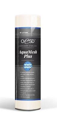 OESD AquaMesh PLUS Wash-Away Stabilizer, Classroom Roll 10 x 2yds