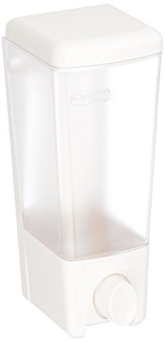 Better Living Products Clear Choice Dispenser Three Chamber Shower Dispenser, White