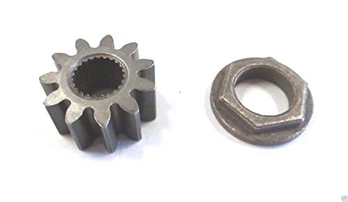 (MTD 717-1554 Pinion Gear & 941-0656A Hex Flange Bearing Kit (1))