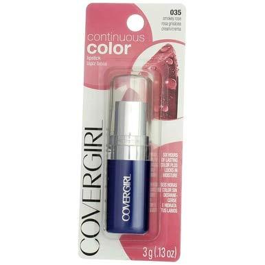 Cg Cs Lipstick 035 Smokey Size .13 O Cover Girl Continuous Color Lip Stick 035 Smokey Rose .13 Oz