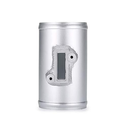 (TOOGOO 63Mm Air Flow Sensor Mount for Nissan Honda Fit Civic for Ford Volkswage Maf Performance Air Intake Meter Adapter)