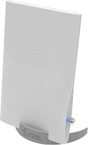 Funke 530910010 Indoor Antenne DSC550 DVBT/T2 16dBi/34dB weiß