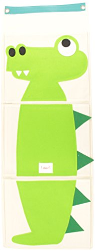 3 Sprouts Wall Organizer Crocodile product image