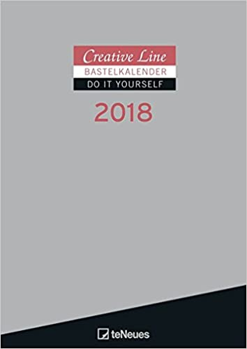2018 creative line silver do it yourself calendar 21 x 297 cm 2018 creative line silver do it yourself calendar 21 x 297 cm amazon teneues calendars stationery 4002725953285 books solutioingenieria Images
