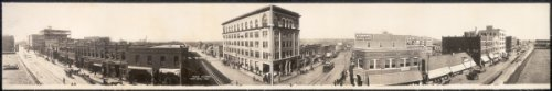 c1909 Tulsa, Oklahoma 48'' Vintage Panorama photo by Historic Panorama Photographs