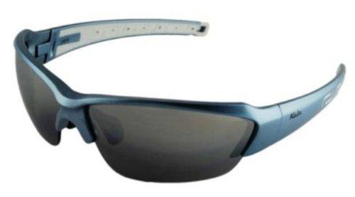 Kele by NYX Saber Sunglasses, Ice Blue Frame/Dark Grey - Saber Sunglasses