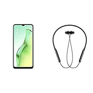 OPPO A31 (Mystery Black, 6GB RAM, 128GB Storage) + OPPO ENCO M31 Wireless in-Ear Earphone with Mic (Black)