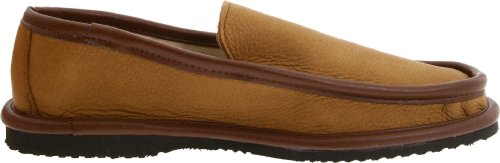 L.B. Evans Men's Deerking Slipper,Mocha,8 M