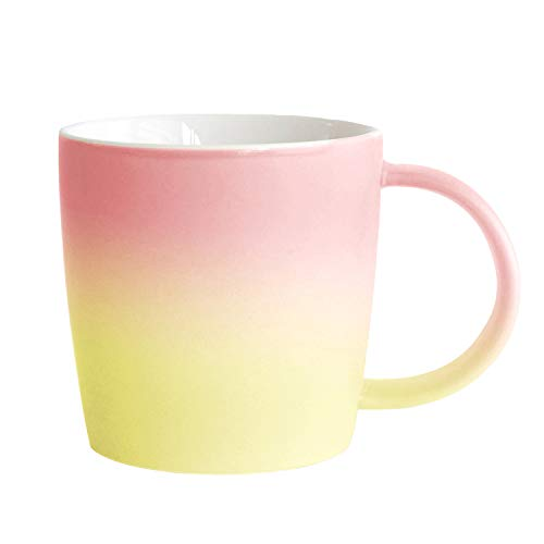 Ombré Color Collection (Flamingo - Yellow/Pink), Gradient Mug,