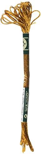 - DMC 1008F-S976 Shiny Radiant Satin Floss, Golden Brown, 8.7-Yard