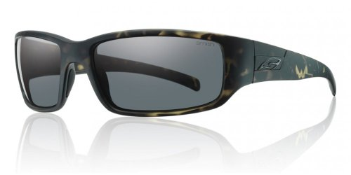 Smith Optics Prospect Carbonic Polarized Sunglasses, Matte Camo Frame, Polar Gray Carbonic TLT - Smith Sunglasses Camo