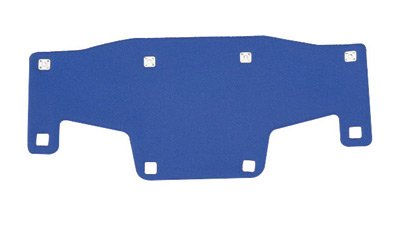 Bullard RBPCOOL Brow pad, replacement for all Model C30, C33, C34, S51, S61, S62, S71, 911C, and 911H hard hats, Cooling material, Blue, One Size
