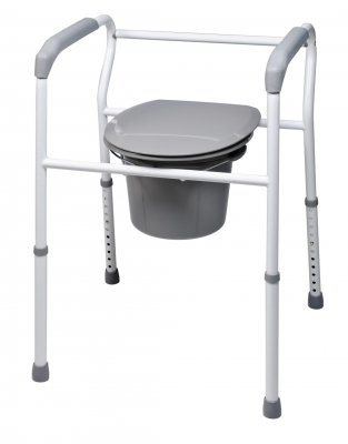 Lumex 7103L Replacement Legs for 7103 Platinum Collection 3-in-1 Steel Commode