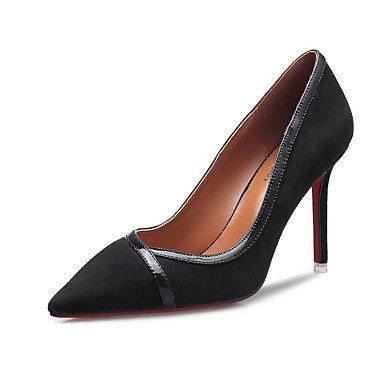 Zormey Tacones Mujer Primavera Verano Otoño Zapatos Club Comfort Fleece Oficina &Amp; Carrera Parte &Amp; Traje De Noche Stiletto Talón Dividido Caminar Conjunto US6 / EU36 / UK4 / CN36
