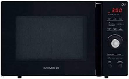 Daewoo KOR-9GFR - Microondas monofunción, 900 W, 26 L, color negro ...