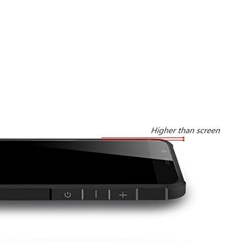 SMTR Xiaomi Mi A1 Funda Silicona, Xiaomi Mi A1 Funda Gel Suave TPU Case - Carcasa Resistente a los Arañazos para Xiaomi Mi A1 -dragón Negro dragón gris