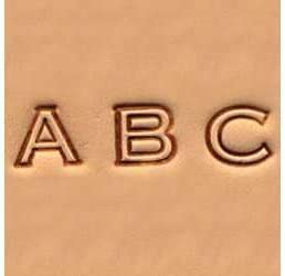 4904-00 Tandy Leather Easy-to-Do Stamp Set Numbers 6 mm 1//4